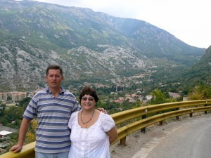 Marco and me in Kotor