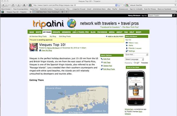 Vieques Travel Blog