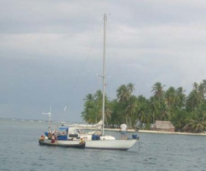 saga and ulu -san blas islands