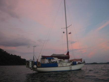 saga-sunset
