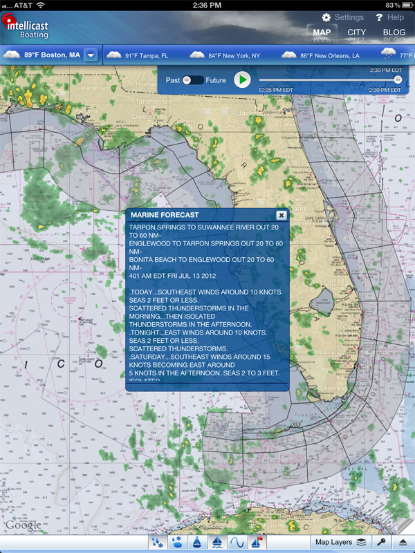 Finally, A Mobile Weather App For Safe, Serious Boating | Your